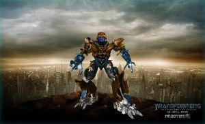 Movie Dinobot by DragonDino