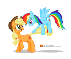 Appledash Playing (?) by JcosHooves