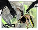 Void Promotional Illustration For Lucca 2014 by TheRamf
