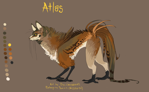 Character Commission - Atlas by suchacat