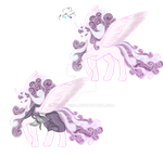 Nightmare Flurry Heart 1st color suggestion by Wolfsea