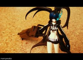 Black Rock Shooter - 2 by marvyanaka