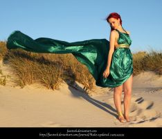Green Silk 21 by faestock