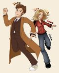 Ten and Rose WIP by eclecticmuse