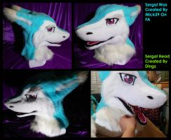 Sergal Head v.2 Finished! by Dingz