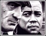 Robert DeNiro and Cuba Gooding Jr. by Rick-Kills-Pencils
