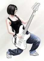 Bass girl by bennyotavio