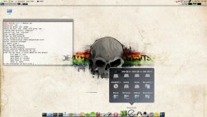 LINUX MINT 8 - Cairo-Dock by Linux4SA