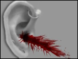 Bloody Ear by Siccie