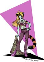 Mary Ann Tigress by weremole