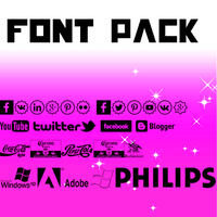 Font Pack-1 by Gomez123selena