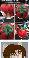 Tomato Hair by ScarlettaAgni