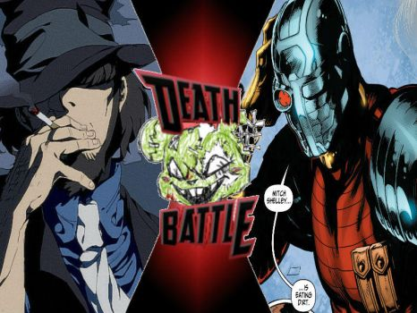 Jigen vs Deadshot by ToxicMouse77