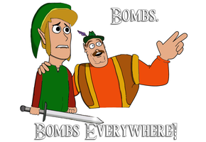 Bombs everywhere by CaptPancake