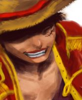 Luffy by jumikun