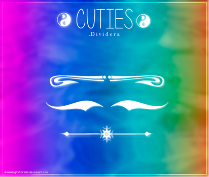 Cuties Dividers {.Abr} by DreamingTutorials