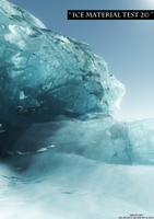 Ice Material Test 2© by Massi-San