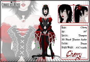 CdR: Black Faction Leader Cherry by Shintari