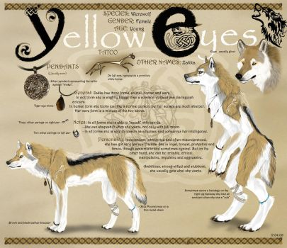 Yellow-eyes -final design by Yellow-eyes
