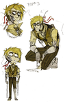 Golden/Broken Bonnie by BlasticHeart