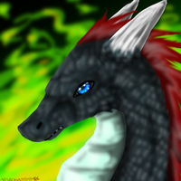 blue eye by garasnegras