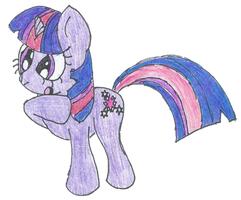 Curious Twilight Sparkle by Sonicdude645