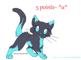 Adoptable Cat 2:Sold! by xmitters