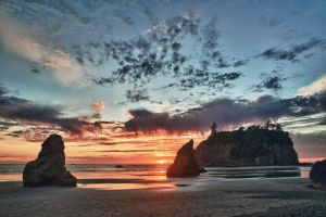 Ruby Beach 11 by arnaudperret