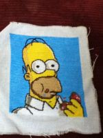 Homer Simpson by Stitches-and-Beer