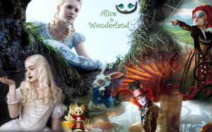 Alice in Wonderland by RytaHolmes