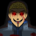Anderson for Halloween (headshot) by AlucardAndHisWolfs