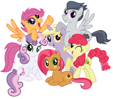 Harmony Crusaders: Best friends by schwarzekatze4