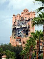 Hollywood Tower Hotel by Monkpengossum