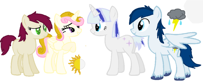 RL Friend's OCs by CrazyCatPerson0