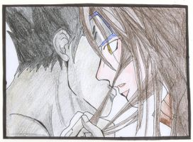 my first kiss? by HaChan