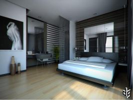 Mr. Faisal Bedroom by deguff