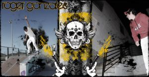 Roger Gonzales Skate Photoshop by ronankelly
