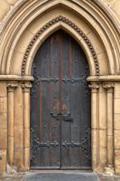 Chapel Door I - HDR by somadjinn