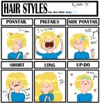 Hair style meme - Finn the human by natto-uzumaki