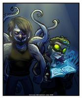Kraken and Codex by Bilious