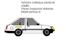 Toyota Levin AE85 Itsuki Ver. by pete7868