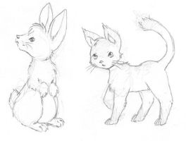 Pooka animals by ImaginaryFox
