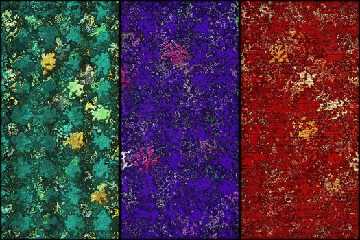 Abstract Textures-Set No.2 by allison731