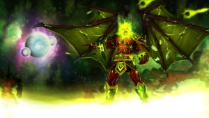 Sargeras, Lord of the Legion by hipnosworld