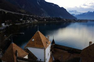 Chillon and Geneva Lake by Destroth
