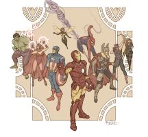 Avengers by Mariey