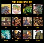 Deadly 2010 Year in Art by deadlymike