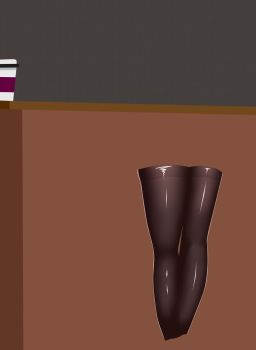 Dem stockings tho (WIP 01) by BLACKR0CKSHUTA
