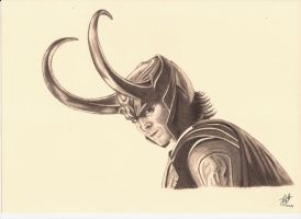 Loki, Tom Hiddlestone by PIERNODOYUNA