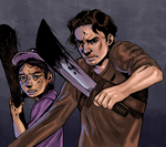 Clementine and Luke by TheComicStream